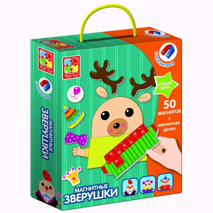Vladi toys Магнитная игра Зверушки