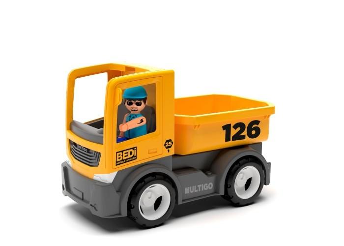 Машины Efko Строительный грузовик с водителем