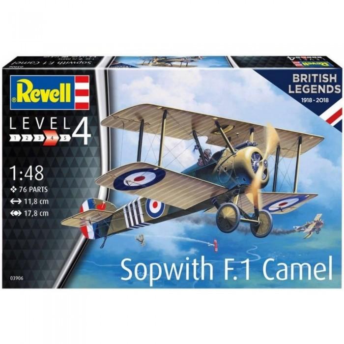 Revell 100 лет RAF Одноместный истребитель Sopwith 2F.1 Camel 03906R