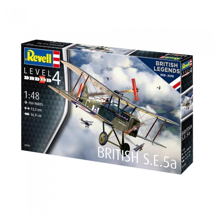 Revell 100 лет RAF Боевой биплан 03907R