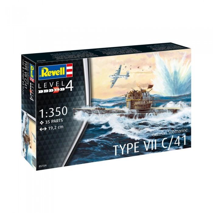 Купить Сборные модели, Revell Подводные лодки типа VII C/41