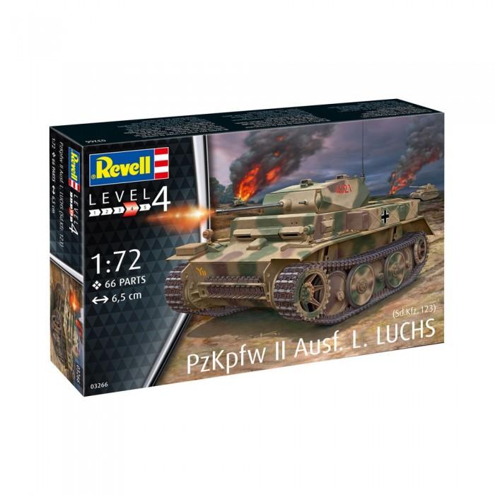 Revell Немецкий лёгкий танк PzKpfw II 03266R