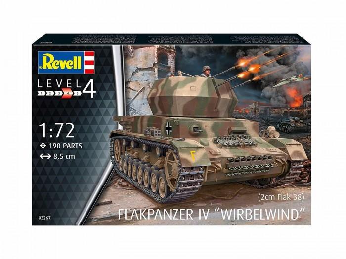 Revell Германская зенитная самоходная установка Wirbelwind 03267R