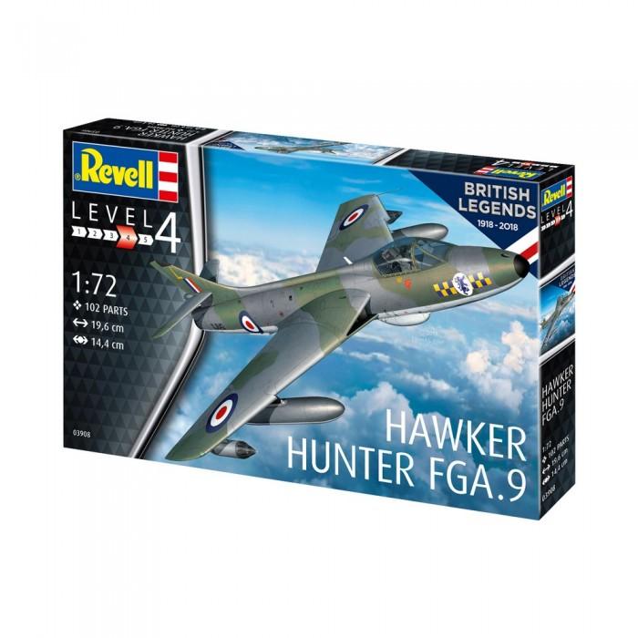 Revell 100 лет RAF Хокер Хантер 63908