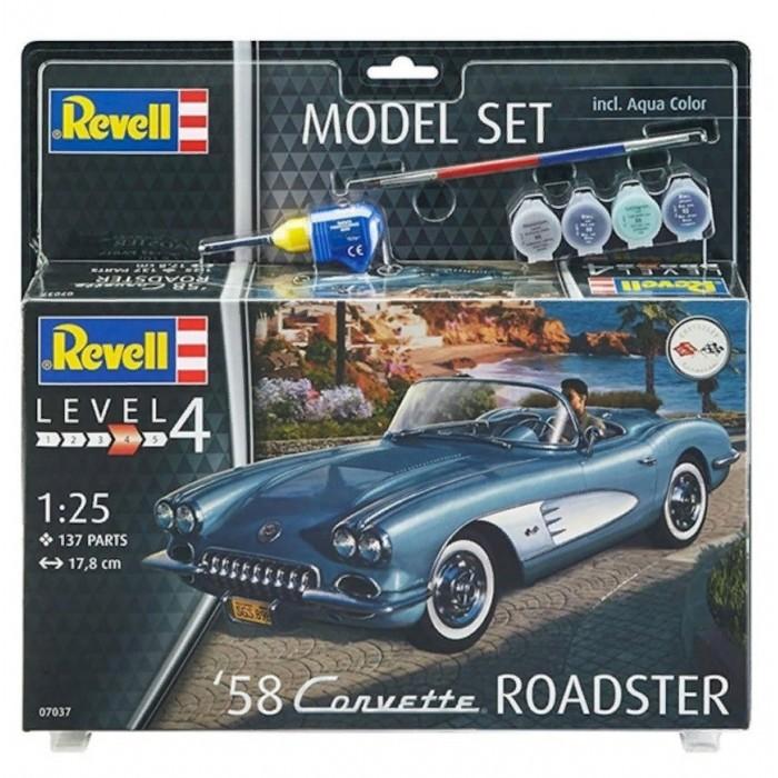 Revell Набор Автомобиль 58 Corvette Roadster 67037