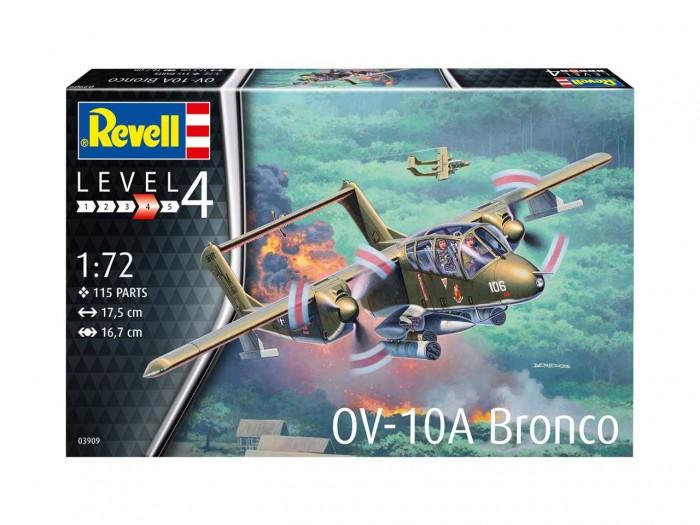 Revell Сборная модель самолета Норт Америкэн OV-10 Бронко фото