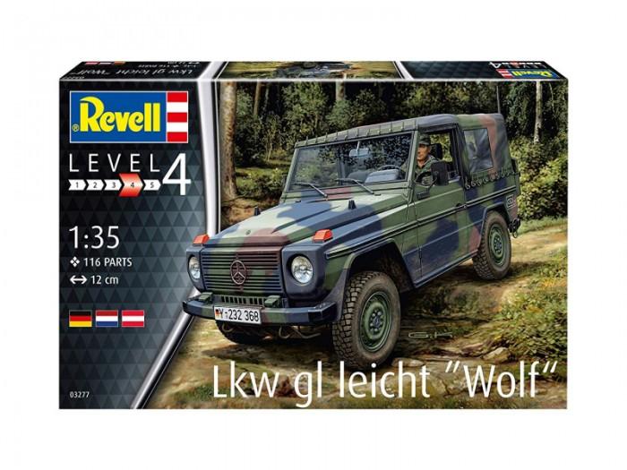 Конструктор Revell Сборная модель немецкого автомобиля Бронетехника Lkw gl leicht Wolf