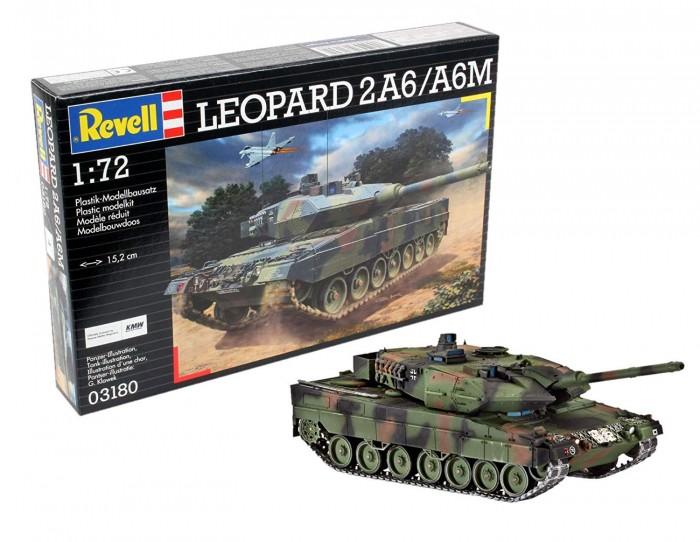 Revell Сборная модель Танк Leopard 2A6/A6NL 3281