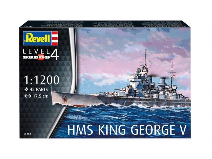 Конструктор Revell Набор Линкор HMS King George V
