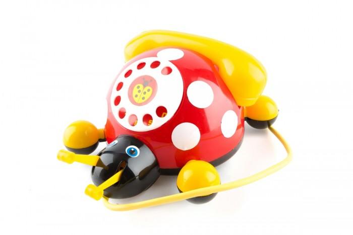 Каталки-игрушки Пластмастер Божья коровка