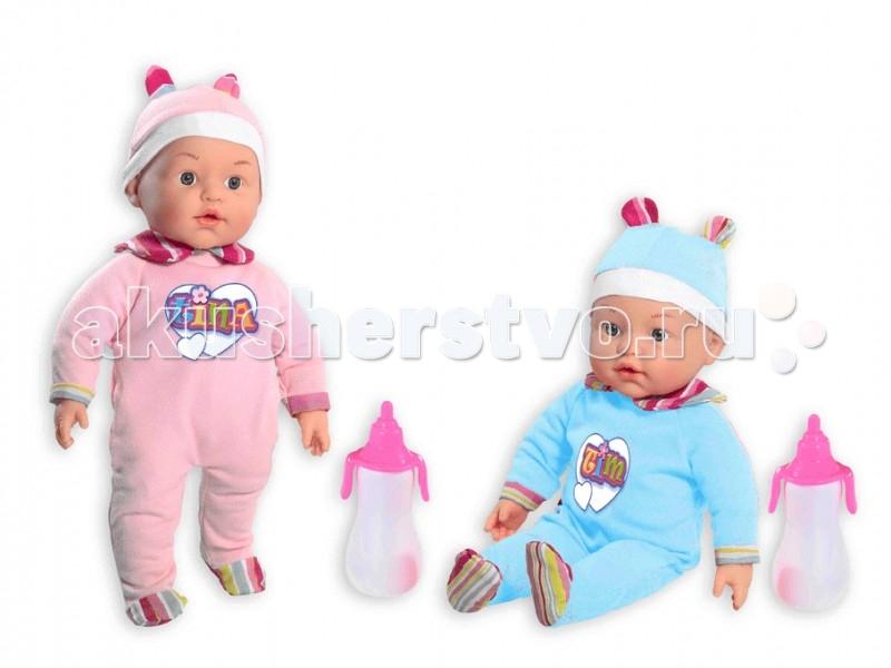 Loko Toys Набор My Dolly Sucette близняшки 37 см 2 шт.Набор My Dolly Sucette близняшки 37 см 2 шт.Игры с куклами способствуют эмоциональному развитию, помогают формировать воображение и художественный вкус, а также развивают в вашей малышке чувство ответственности и заботы. Такой пупс надолго увлечет девочку и подарит ей множество счастливых часов, посвященных игре с ним.  Комплектность:  2 мягконабивных куклы 37 см  соски 2 шт.  бутылочки для кормления 2 шт.  Изготовлено из: ПВХ, Текстиль, Полиэстер<br>