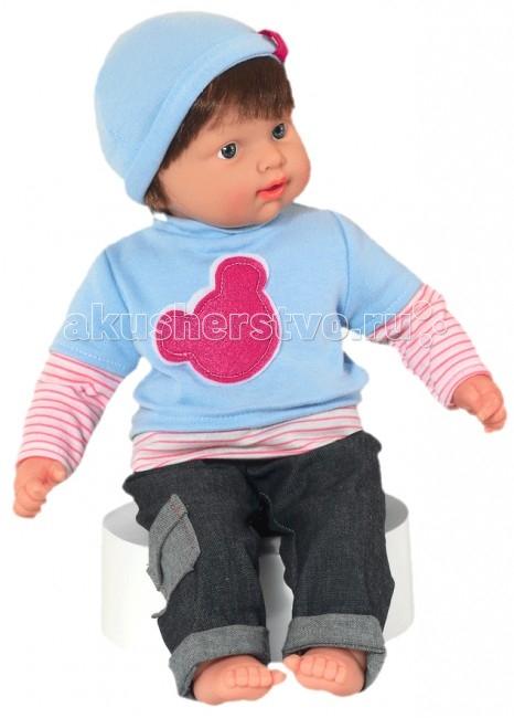Loko Toys Кукла Baby Pink Мальчик 43 см (наряд 005)Кукла Baby Pink Мальчик 43 см (наряд 005)Игры с куклами способствуют эмоциональному развитию, помогают формировать воображение и художественный вкус, а также развивают в вашей малышке чувство ответственности и заботы. Такой пупс надолго увлечет девочку и подарит ей множество счастливых часов, посвященных игре с ним. Функции: 2 звука  Работает от батареек (в комплекте): 3XLR44  Изготовлено из: ПВХ, Текстиль, Полиэстер Комплектность:  1 мягконабивная кукла 43 см соска 1 шт.<br>