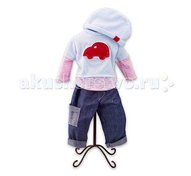 Куклы и одежда для кукол Loko Toys Одежда для куклы мальчика Baby Pink куклы и одежда для кукол bayer малышка первый поцелуй 42 см