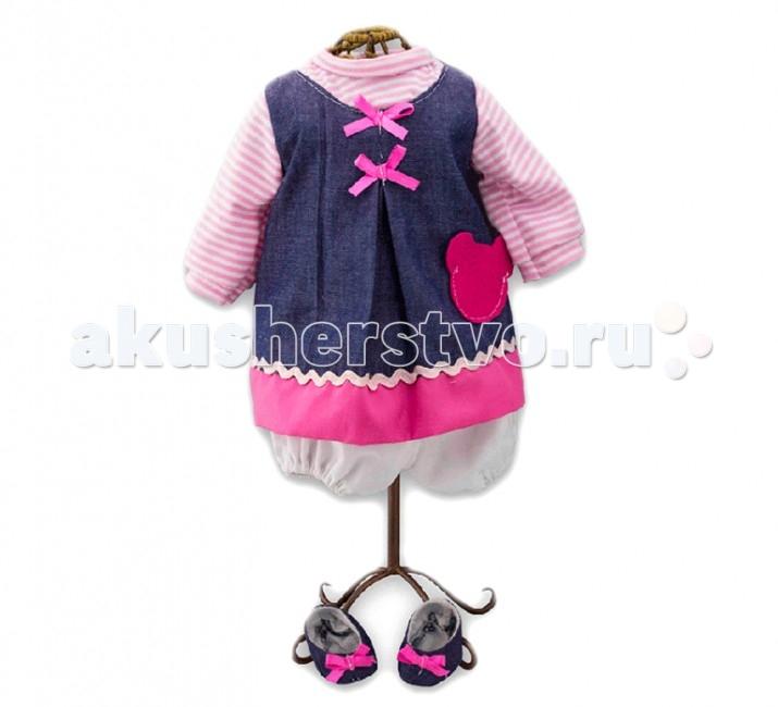 Куклы и одежда для кукол Loko Toys Одежда для куклы девочки Baby Pink 98241 куклы и одежда для кукол виана одежда для кукол 128 21