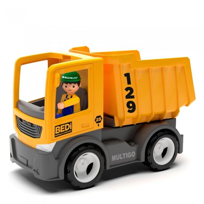Машины Efko Строительный грузовик-самосвал с водителем