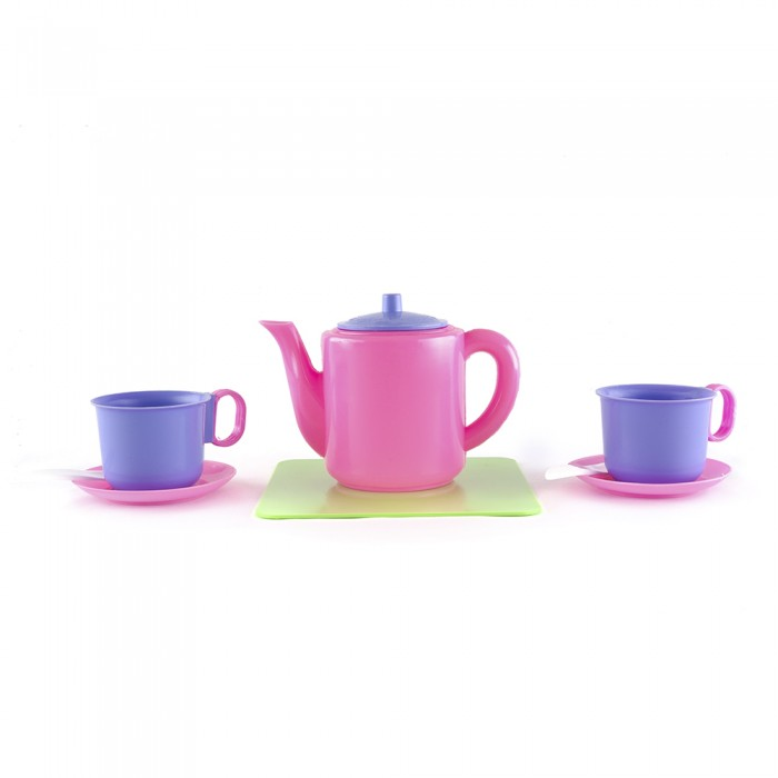 Ролевые игры Пластмастер Набор посуды Сахарок