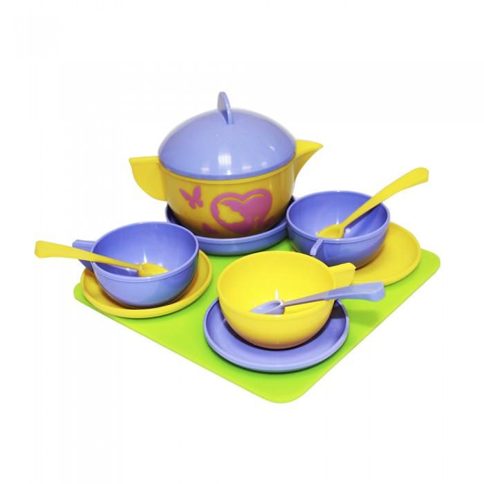 Ролевые игры Пластмастер Набор посуды Чайное трио ролевые игры пластмастер набор посуды сахарок