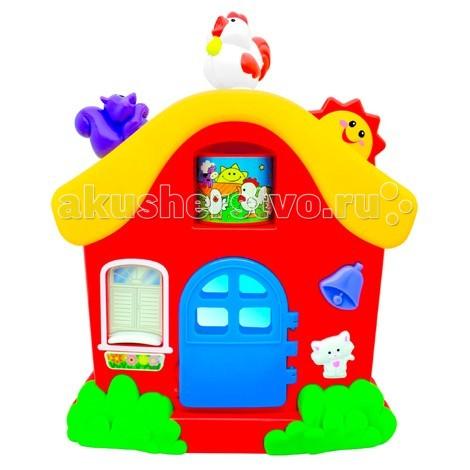 Kiddieland Интерактивный домик KID 051466Интерактивный домик KID 051466Kiddieland Интерактивный домик KID 051466 - яркий домик станет любимой игрушкой вашего малыша! На домике есть кнопочки, которые можно нажимать и вращать. И тогда малыш услышит разные забавные звуки.   С этим домиком ребенок проведет много хорошего времени и получит массу веселья и радости.<br>