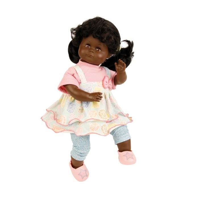 Schildkroet Кукла мягконабивная Санни темнокожая 37 см