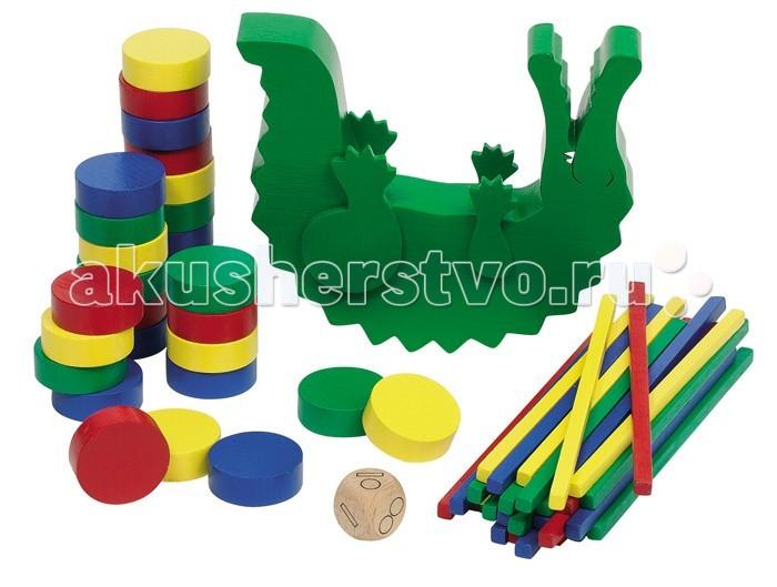 Деревянная игрушка Goki Нагрузи крокодила