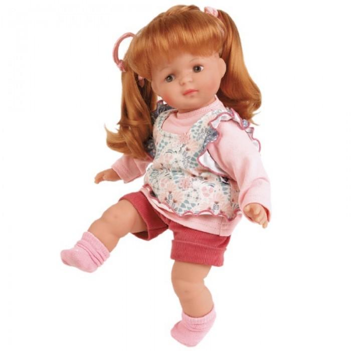 Schildkroet Кукла мягконабивная Ханна рыжая 36 см