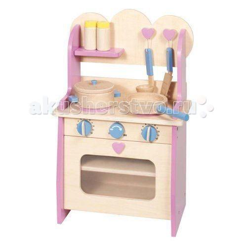 Купить Ролевые игры, Goki Кухня деревянная с аксессуарами