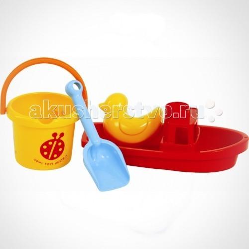 Игрушки в песочницу Gowi Песочный набор Кораблик gowi набор игрушек для песочницы ведерко грабли совочек формочка