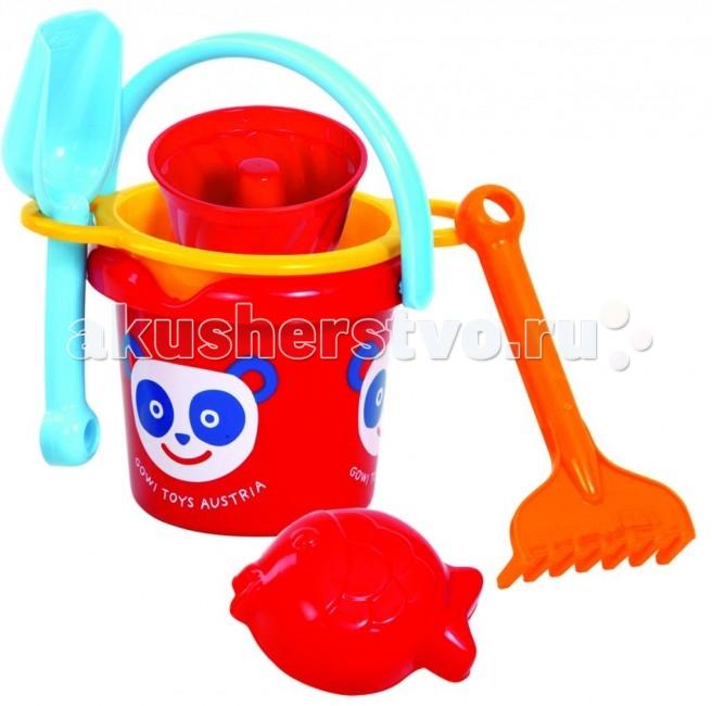 Игрушки для зимы Gowi Песочный набор Кекс игрушки для зимы gowi детская лопата 39 5 см