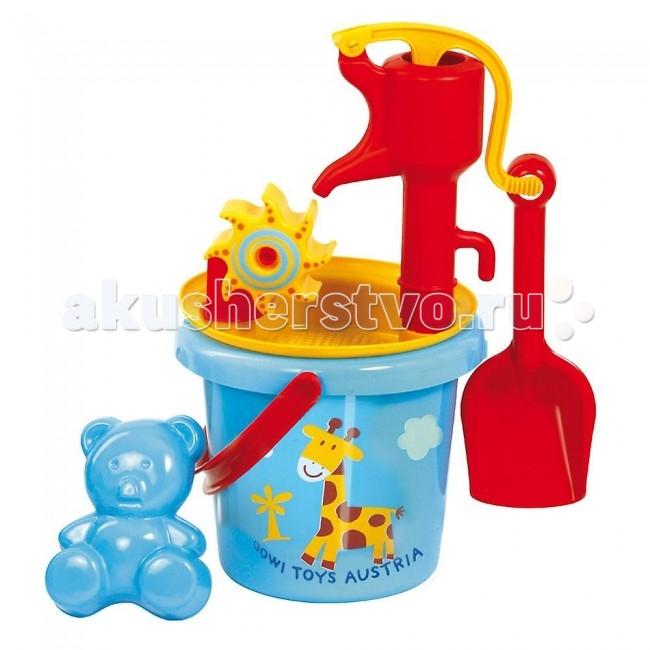 Летние товары , Игрушки в песочницу Gowi Песочный набор с водяной помпой арт: 74486 -  Игрушки в песочницу