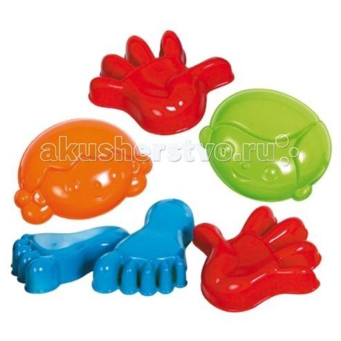 игрушки в песочницу Игрушки в песочницу Gowi Набор формочек для песка