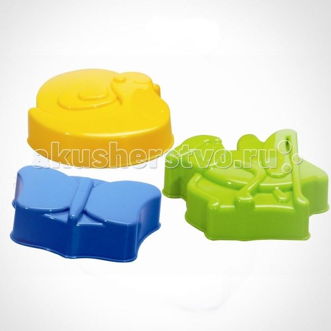 Игрушки в песочницу Gowi Набор формочек для песка Насекомые игрушки в песочницу maxitoys набор формочек для песочницы 2 шт