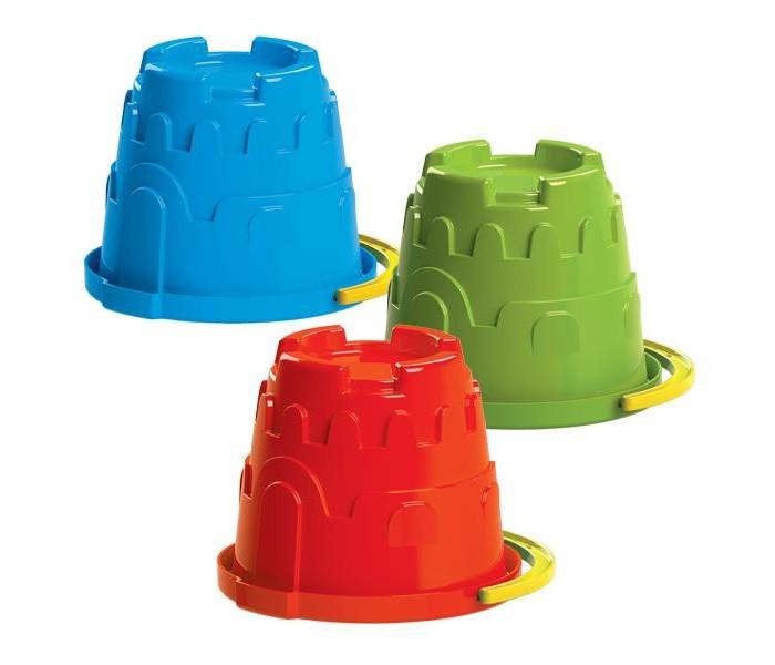игрушки в песочницу Игрушки в песочницу Пластмастер Ведро Крепость 70050