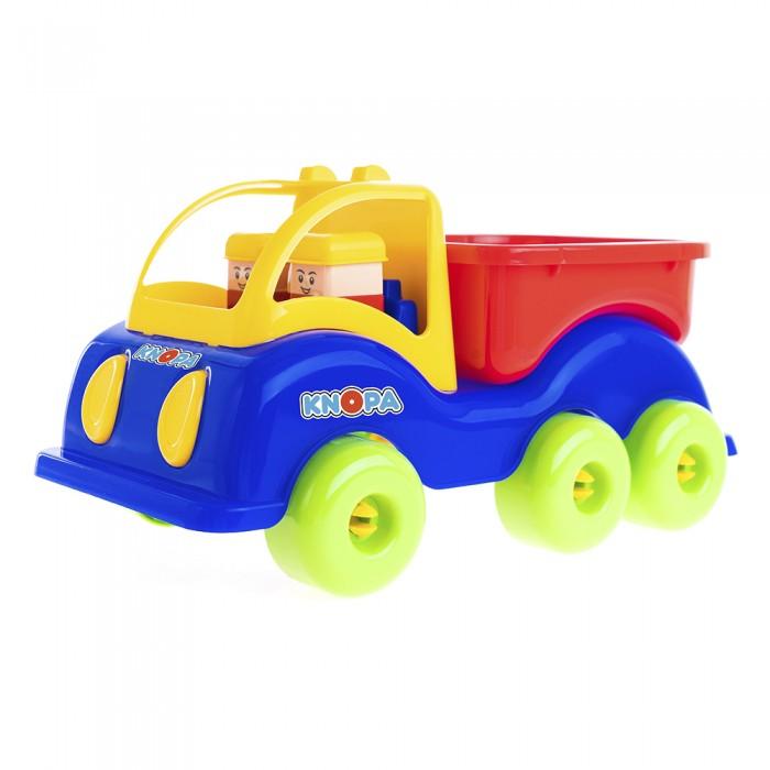 Купить Knopa Машинка грузовик Силач 3 оси 33 см в интернет магазине. Цены, фото, описания, характеристики, отзывы, обзоры