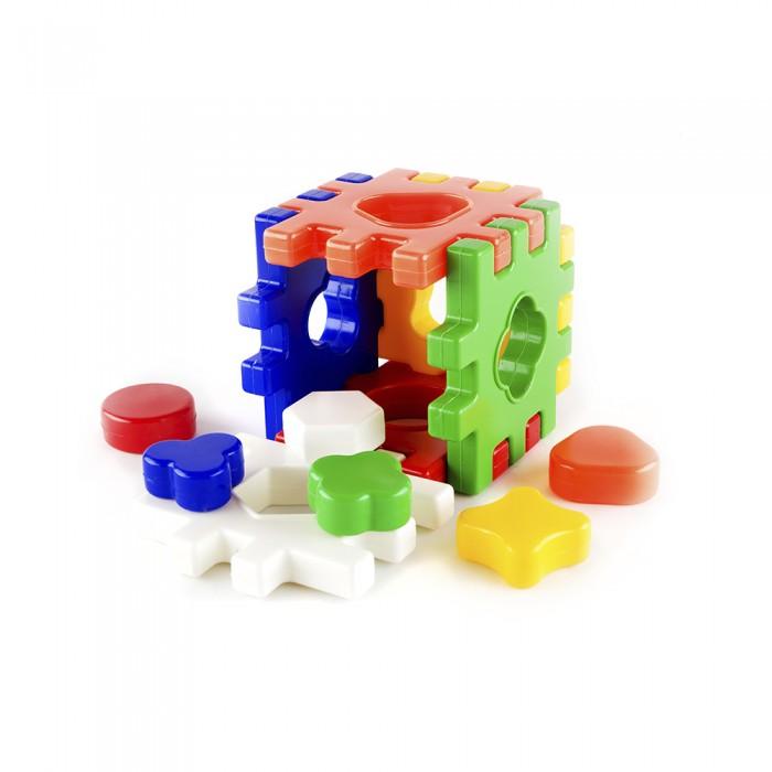 Сортеры Пластмастер Развивающая игра Логический Куб сортеры red box куб 23880 1