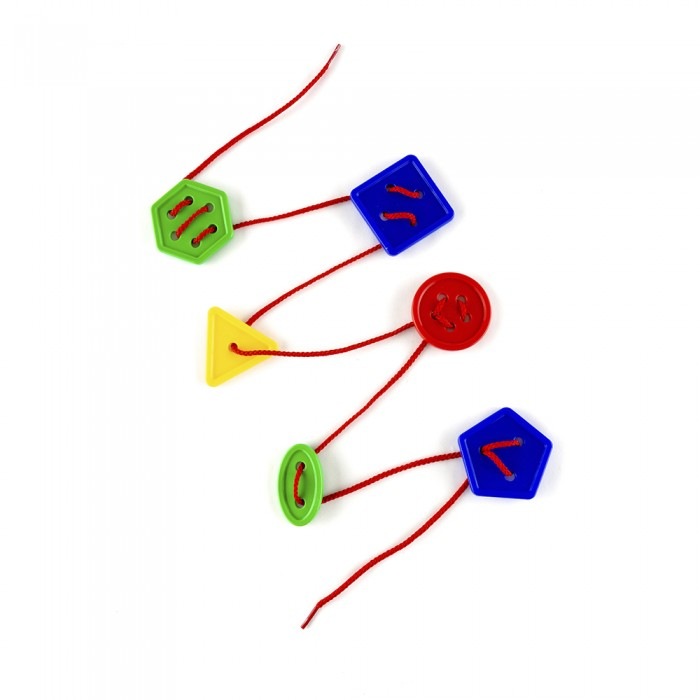 Развивающие игрушки Пластмастер Шнуровка Пуговки №2