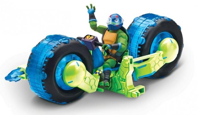 Playmates TMNT Мотоцикл с фигуркой Лео 82481