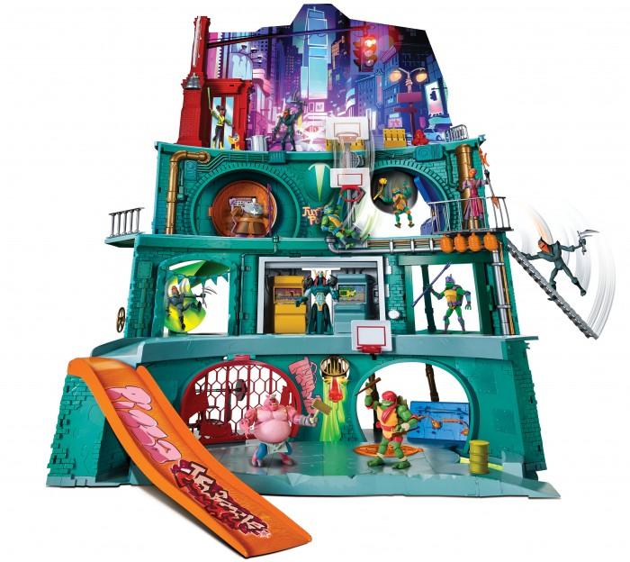 Playmates TMNT Большой игровой набор Черепашье логово 82751