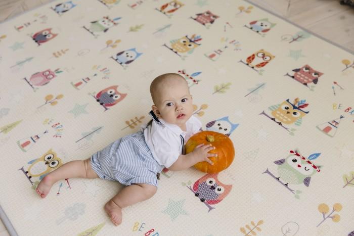 Игровой коврик Parklon Двухсторонний TPU Prime Living Совята 150x200x1 см TPL-521-ID-LOFL