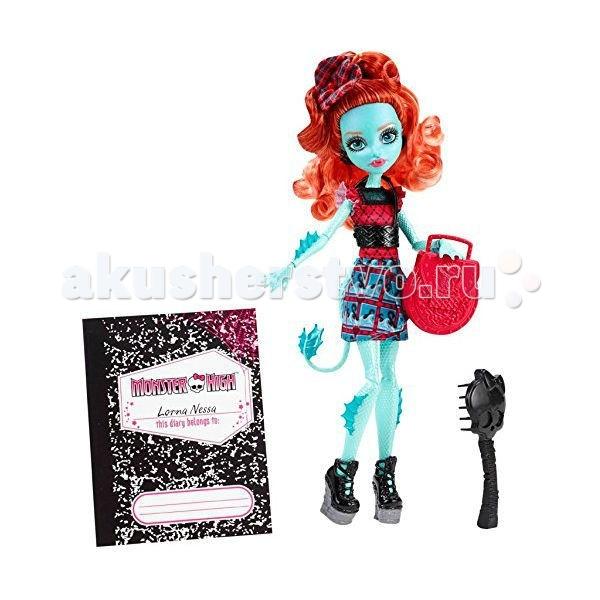 Monster High Кукла Монстры по обмену Лорна МакНесси