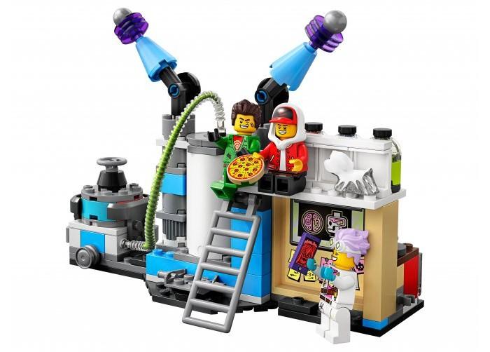 Конструктор Lego Hidden Side 70418 Лаборатория призраков фото