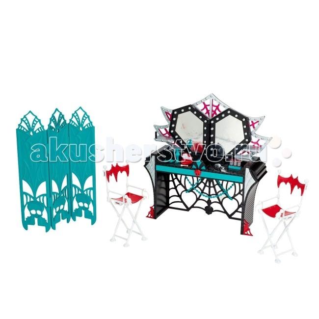 Monster High Игровой набор Вечеринка из серии Страх! Камера! Мотор! Гримерка