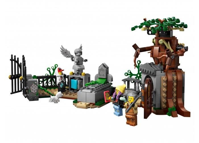Конструктор Lego Hidden Side 70420 Загадка старого кладбища фото