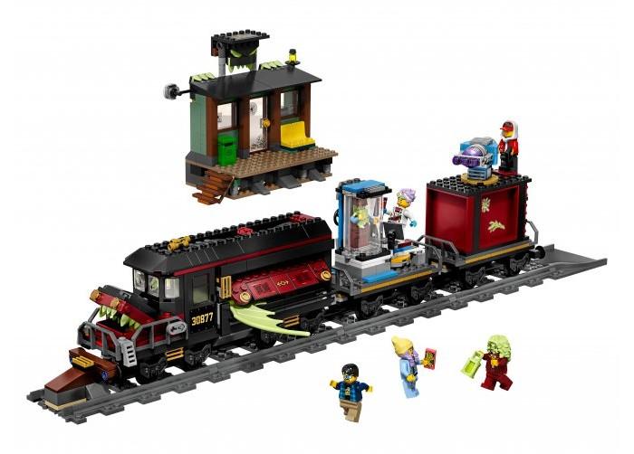 Купить Конструктор Lego Hidden Side 70424 Призрачный экспресс
