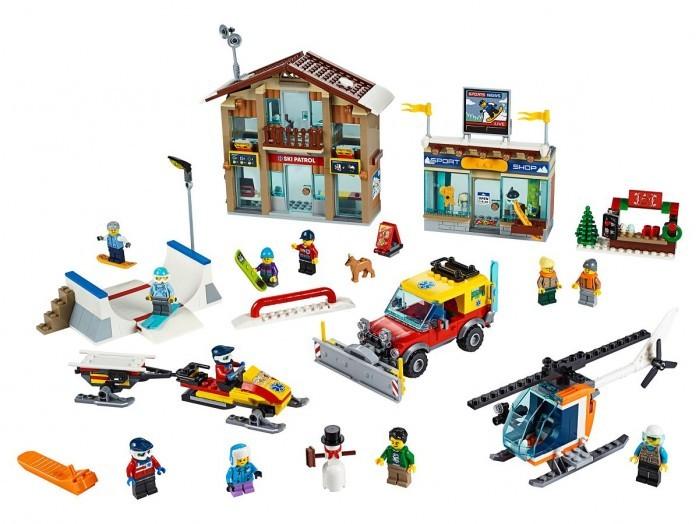 Конструктор Lego City Town 60203 Горнолыжный курорт