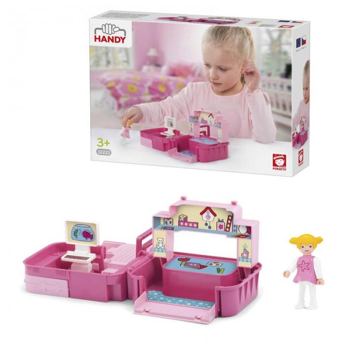 Игровые наборы Efko Раскладывающийся игровой набор детская комната с аксессуарами и девочкой