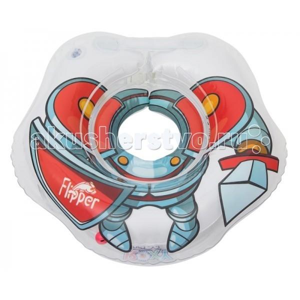 Круги для купания ROXY Flipper Рыцарь для купания малышей roxi kids fl002 круг на шею для купания малышей