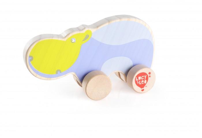 Каталки-игрушки Lucy & Leo Каталка Бегемот LL122