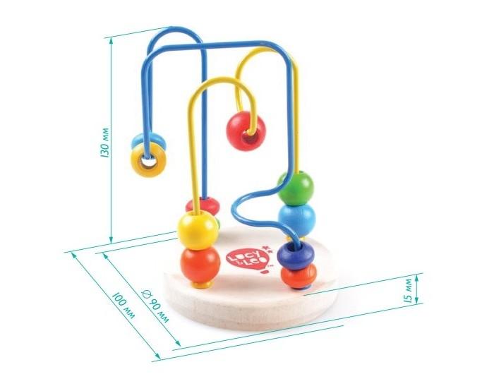 Деревянные игрушки Lucy Leo Лабиринт 2 деревянные игрушки lucy leo лабиринт рыба