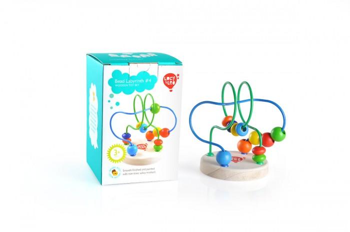 Деревянные игрушки Lucy Leo Лабиринт 4 деревянные игрушки lucy leo лабиринт рыба