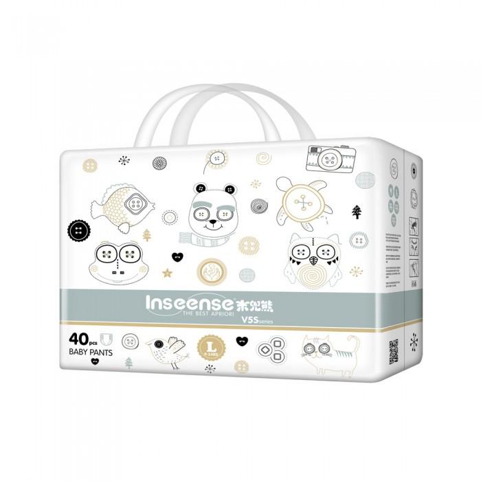 Купить Inseense & Midday bear V5S Подгузники-трусики L (9-14 кг) 40 шт. в интернет магазине. Цены, фото, описания, характеристики, отзывы, обзоры